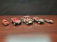 (Lot of 5) 1969 Tootsietoy Die-cast Metal Vehicles