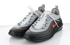 U40 NEW Men's Sz 10 US Nike Air Max Axis Mesh Sneakers - Black & Gray