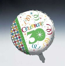 Celebrate in Style 30th Birthday Foil Balloon