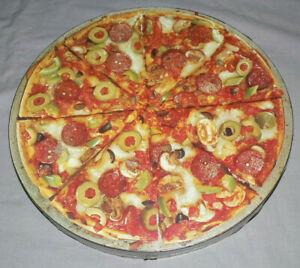VTG 80s SPRINGBOK MAMA MIA! PIZZA JIGSAW PUZZLE ROUND 500 PC NEW SEALED 100%