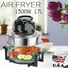 17L Digital Electric Air Fryer Oil-Less Griller Roaster Calorie Reducer Healthy