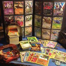 300 English Random Pokémon Tcg Cards Lot Collection -Ex Rares Coin Tin-