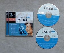 "CD AUDIO MUSIQUE / JEAN FERRAT ""VOL. 1""  36T 2XCD COMPILATION 1996 POP"