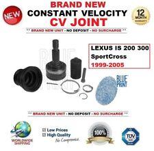 Pour Lexus Is 200 300 Sportcross 1999-2005 Neuf Constant Velocity Kit Cardan
