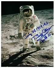 Buzz Aldrin  Lunar Surface Signed Photo