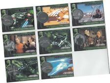 "Star Trek Nemesis Movie: 8 Card ""Star Trek Technology"" Chase Set T1-T8"