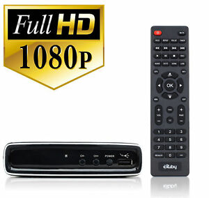 Digital Converter Box for TV w/ RCA Cord for Watching and Recording HD Channels