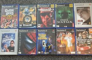 PS2 Games X 10 Playstation 2 PAL Bundle Joblot