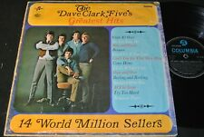 THE DAVE CLARK FIVE Greatest Hits / India Mono LP 1966 COLUMBIA 33SX 6105