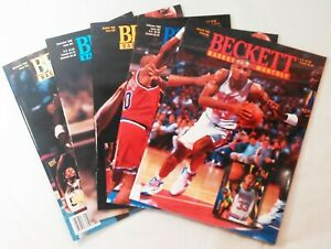 Beckett Basketball Monthly 1995 Back Issues