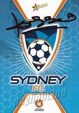 ✺Signed✺ 2007 2008 SYDNEY FC A-League Card JOHN KOSMINA