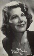 Beautiful Actress Betty Lou Gerson - Exhibit Arcade Card