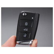 Car FOB Folding Key Case Shell With Blade for VW Golf 7 MK7 Skoda