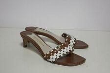 Bruno Magli US 7.5 B Brown Woman's Kitten Heels