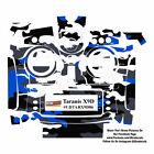 Blue Camouflage Frsky Taranis X9D Plus X9D+ Transmitter Skin Wrap Sticker Decal