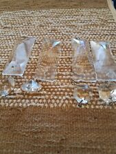 4 Long Crystal Pieces