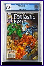 Fantastic Four #v2 #1 CGC Graded 9.4 Marvel November 1996 White Pages Comic Book