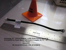 """Samsung 32"""" UN32EH4003F Cable from Power Board @[CNM803] to Main Board @[CN201]"""