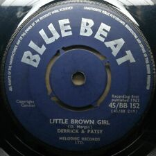 "DERRICK MORGAN & PATSY ""Little Brown Girl"" 1963 BLUE BEAT SKA vinyl 45 mp3"