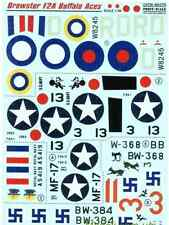Print Scale 48-075 - 1 /48 Decal for Brewster F2a Buffalo