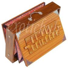 "SHRUTI BOX~TEAK WOOD~BIG SIZE (15""X10""X3"")~440Hz~YOGA~MANTRA~KIRTAN~FREE GIG BAG"