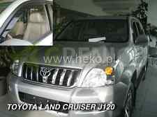 TOYOTA LAND CRUISER J120 3/5-portes 2003-2007 Deflecteurs de vent 2-pcs HEKO