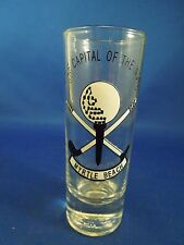 Golf Capital of the World Myrtle Beach Shooter Double Shot Glass