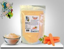 Carrot Powder 8oz (1/2lb) Rich in Beta-Carotene (for eye health) Paradise Powder