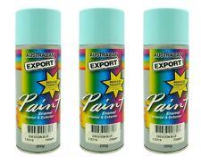 3 x Australian Export Spray Paint Cans 250gm Creation Blue 100% Brand New