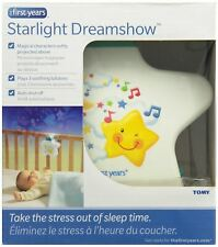 Starlight Dreamshow Baby Night Light White Ceiling Projector Lullaby