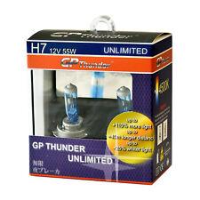 GP Thunder UNLIMITED 4500K H7 55W Bright White Xenon Light Bulbs