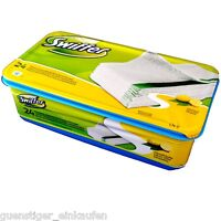 Swiffer 24 feuchte Boden Reinigungs Tücher Citrus Staub Wischtücher Sweeper Wet