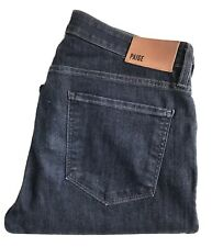PAIGE Men's Jeans, Federal Fit, Size 32 x 32, Blue, Stretch Cotton, New-w/o-Tags