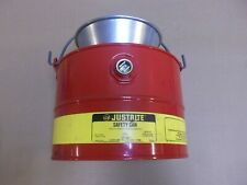 New listing New Justrite Safety Can 10903 Drain Can 3 Gallon 11 Liter