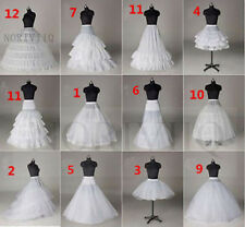 A Line Petticoat White Short Underskirt Hoop/No Bridal Crinoline Wedding Dress