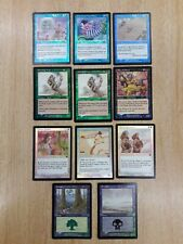 Magic The Gathering Cards - Mercadian Masques - Foils - C and U x 11 cards