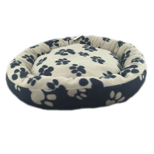 FLEECE PET BED -Dog Cat Mattress Pad Mat Warm Comfy Soft -2 Sizes *FREE DELIVERY