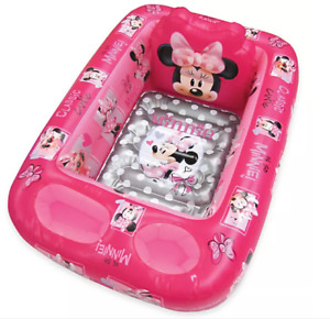 Disney Minnie Mouse Inflatable Bath Tub Pink BRAND NEW FREE SHIPPING!