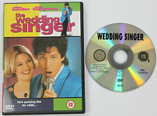 The Wedding Singer R2 DVD Adam Sandler Drew Barrymore Steve Buscemi Billy Idol