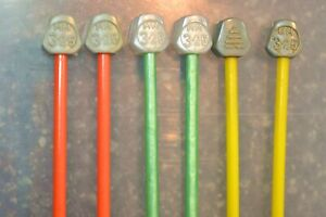 3.25mm (10 gauge) PATONS BEEHIVE Plastic Knitting Needles choose length/colour