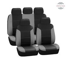 NISSAN NAVARA 4x4 CARNABY RED BLACK SEAT COVERS SET AIRBAG SAFE  FOR