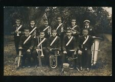 SALVATION ARMY Band Musicians RP PPC unlocated