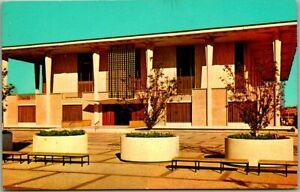 """Tulsa, Oklahoma Postcard """"New Tulsa County Library"""" Building / Curteich Chrome"""