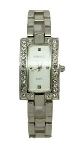 Ladies Benucci Quartz Stainless Steel Bracelet Dress Watch  A10