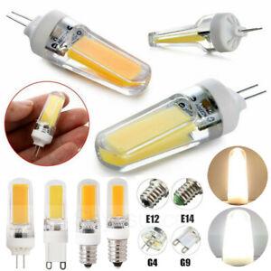 G4//G9//E12//E14 Gemlamp K9 Glass LED Bulb 1505 COB 110V//220V 3W Crystal Light Y