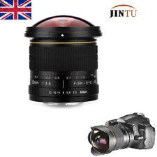 JINTU 8mm f/3.5 Fisheye Wide Angle Lens for NIKON D5200 D5000 D3000 D300 D90 DF