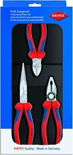 Knipex 00 20 11 Professional Assembly Pack 3 Piece Pliers Set (002011)