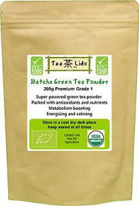 200g Matcha Green Tea Powder 7.0oz 100% Natural ORGANIC, Premium