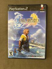 Final Fantasy X (Sony PlayStation 2, 2001) PS2 Black Label 1st Print New Sealed