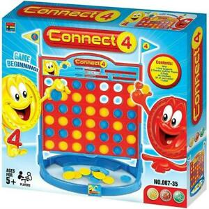 Large Size 4 in a Row Board Game Connect 4 2 PLAYER Traditional Kids Childrens